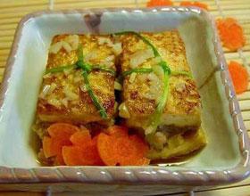 虾皮豆腐炒蛋