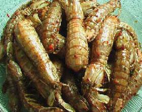 姜汁皮皮虾