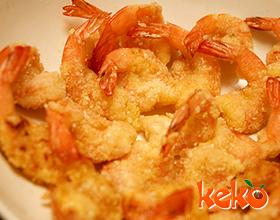 清炸凤尾虾