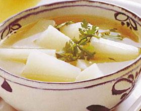 白水萝卜汤