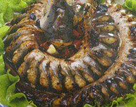 豉汁蟠龙鳗