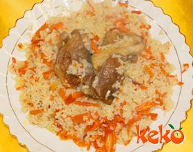 羊肉抓饭(二)