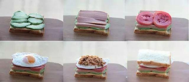 10种三明治的做法,让你每天吃不腻