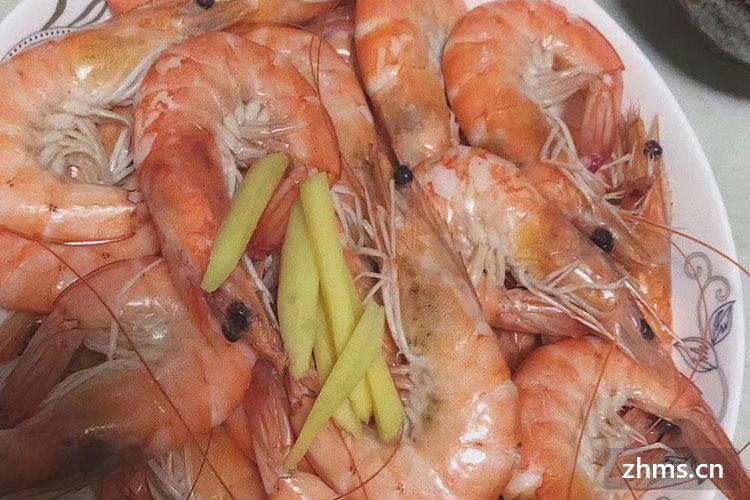 水煮大白虾